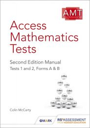 AMT2ED - Product Range, Access Mathematics Tests, Second Edition