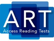 ART3ED-Product Range, Access Reading Tests, Third Edition