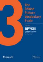 BPVS3-BRITISH PICTURE VOCABULARY SCALE 3RD EDITION Product Range