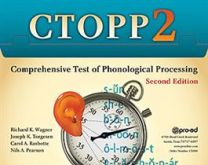 CTOPP2 Comprehensive Test of Phonological Processing, Second Edition online access to supplemental material