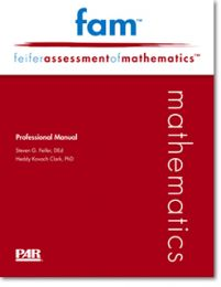 FAM - Product Range, Feifer Assessment of Mathematics