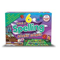 SK6SPLGL4- 6 Spelling & Lang. Games Level 4