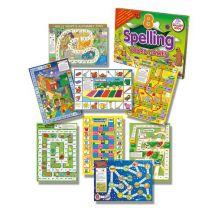 SKESBG-Eight Spelling Board Games