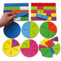 SKFT-Magnetic Fraction Tiles