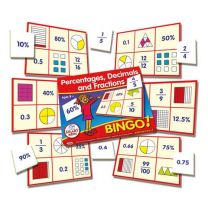 SKPDF-Percentages, Decimals & Fractions Bingo