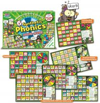 SYNTHETIC PHONICS BOARD GAME (LETTERS & SOUNDS) PHASE 4