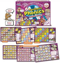 SYNTHETIC PHONICS BOARD GAME (LETTERS & SOUNDS) PHASE 5