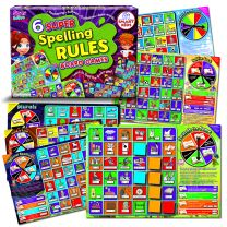 SUPER SPELLING RULES BOARD GAMES
