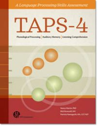 TAPS4 - Test Of Auditory Processing Skills Product Range